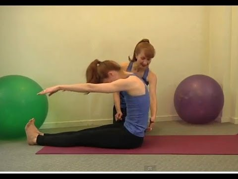 Pilates Moves – Roll Up Exercise
