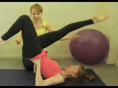 Pilates Moves – Bicycle Exercise