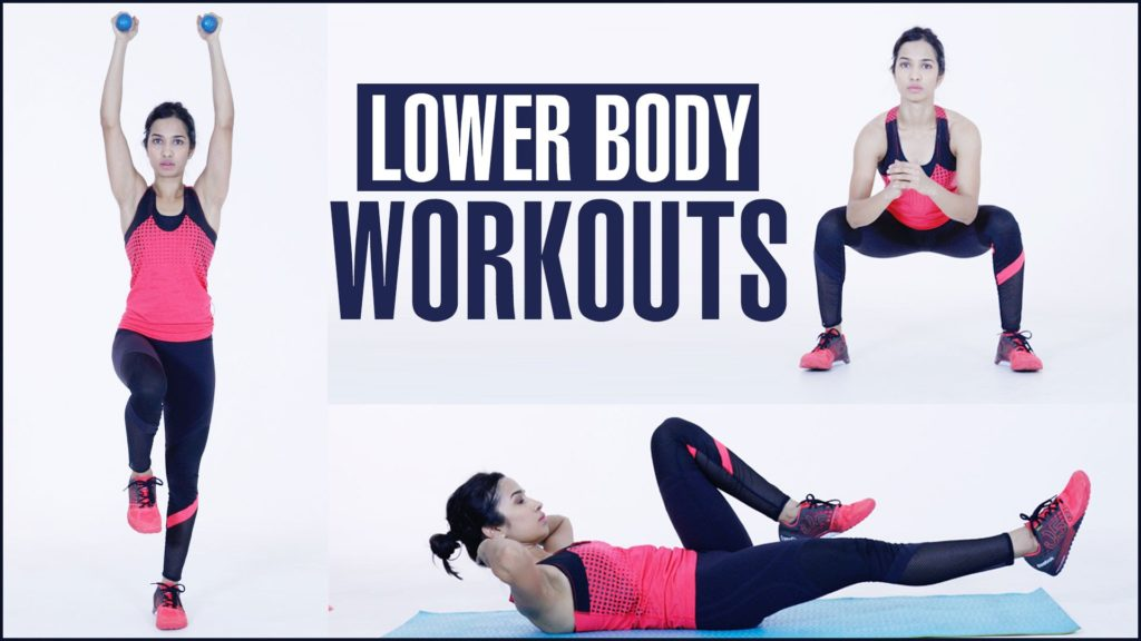 LOWER BODY WORKOUT For Women At Home   Cardio Exercise